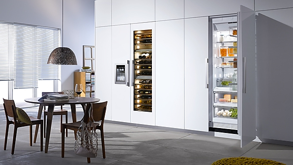 miele refrigeradores y cavas de vino. Black Bedroom Furniture Sets. Home Design Ideas